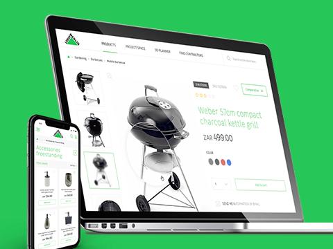 Web Comercial Leroy Merlin Sudáfrica